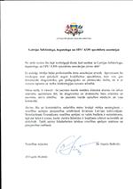 Vēstule no veselības ministra